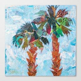 EN-1408 Twin Palms  Canvas Print