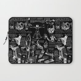 Da Vinci's Anatomy Sketchbook Laptop Sleeve