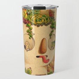 Succulent Man Travel Mug