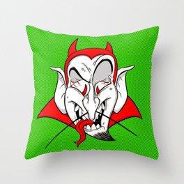 Saucy Devil Throw Pillow