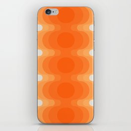 Echoes - Creamsicle iPhone Skin