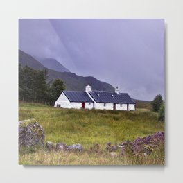 The Cottage in the Glen II Metal Print