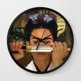 Kill Bill's O-Ren Ishii & Self Portrait Wall Clock