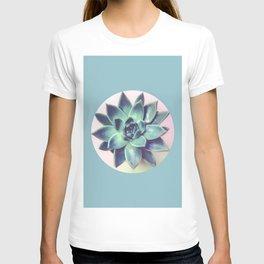 Botanical and geometric VII T-shirt