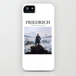 Friedrich - Wanderer Above the Sea of Fog iPhone Case