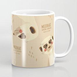 Meerkat, African Wildlife Coffee Mug