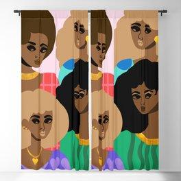 Family Portrait Blackout Curtain