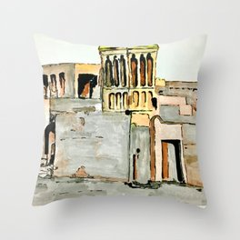 UAE Heritage Throw Pillow