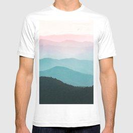 Smoky Mountain National Park Sunset Layers III - Nature Photography T-shirt