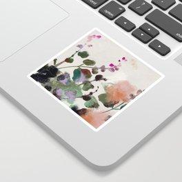floral abstract summer autumn Sticker