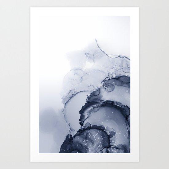BLUE INK 88 by monikastrigel