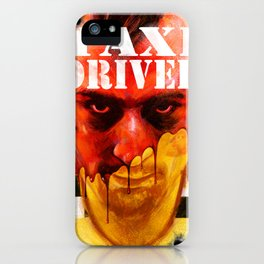 Taxi Driver iPhone Case