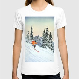 Skiing The Clear Leader T-shirt