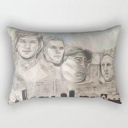 New England Mount Rushmore Rectangular Pillow