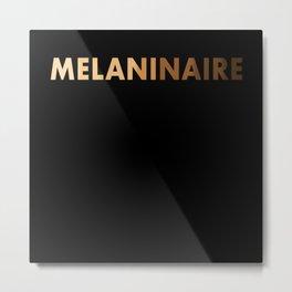 Melaninaire Black Lives Matter Metal Print