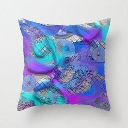 Creative Flow Throw Pillow