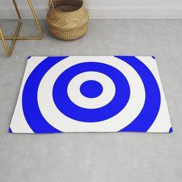 Target (Blue & White Pattern) Rug
