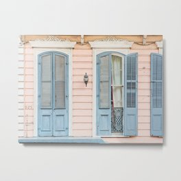 Shotgun House #2 - New Orleans Photography Metal Print