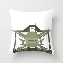 Lord Tachanka Operator Guns Gaming design Back Throw Pillow