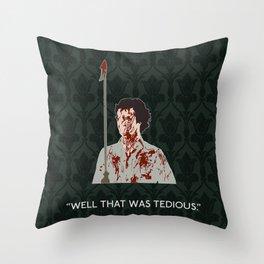 The Hounds of Baskerville - Sherlock Holmes Throw Pillow