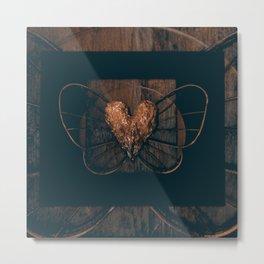 Elysium 2q by Kathy Morton Stanion Metal Print
