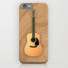 Wonderful Martin Acoustic Guitar  iPhone Case