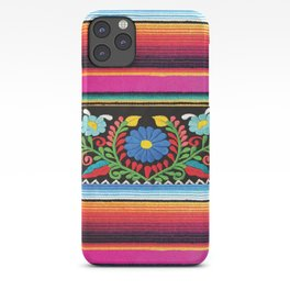 Pink Serape  iPhone Case