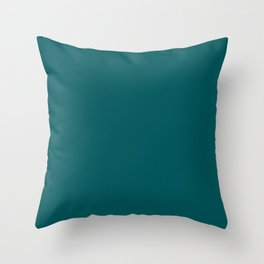 Deep Teal - Accent Color Decor - Lowest Price On Site Throw Pillow