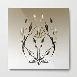 floral emblem 1 Metal Print