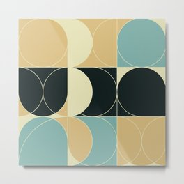 Abstract Geometric Artwork 35 Metal Print