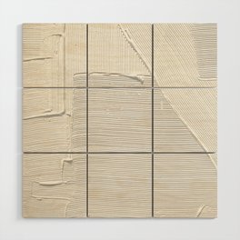 Relief [2]: an abstract, textured piece in white by Alyssa Hamilton Art Wood Wall Art