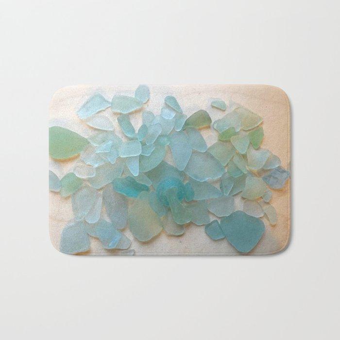 Ocean Hue Sea Glass Badematte