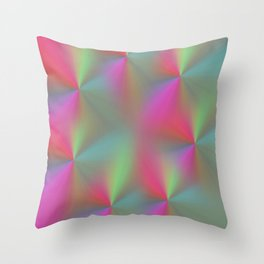 Seven Petals Throw Pillow