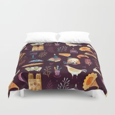 French spirit Duvet Cover