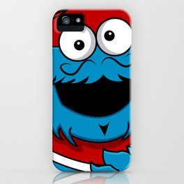 Le Cookie Monsieur iPhone Case