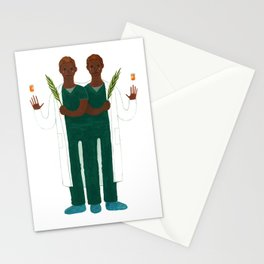 Cosmas and Damian Stationery Cards