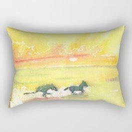 splash of sun Rectangular Pillow
