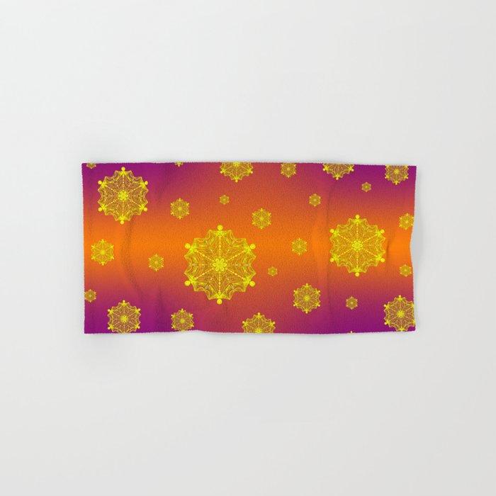 Snowflake Sunset Hand & Bath Towel