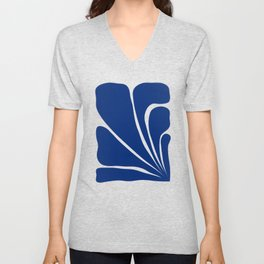 Six Leaves Plant Unisex V-Neck