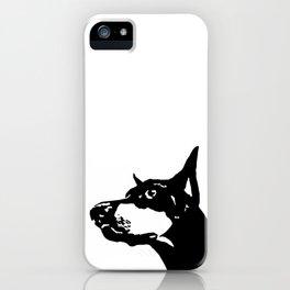 Doberman  Dog iPhone Case