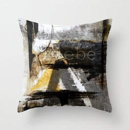 quiet Throw Pillow