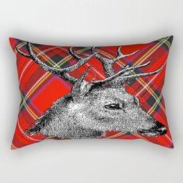 Christmas Reindeer Rectangular Pillow