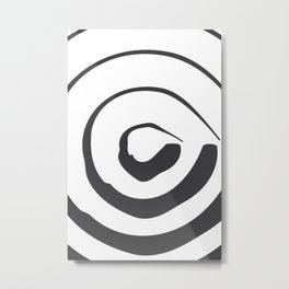 ABSTRACT ART Perspective | Circle Metal Print