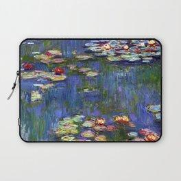 Claude Monet Water Lilies Laptop Sleeve