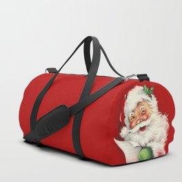 Vintage Santa Duffle Bag