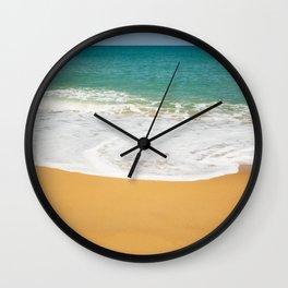 beach ocean Bali Indonesia tropical island sea breeze azure lagoon Wall Clock