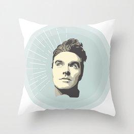 Morrisey  The original soft boy Throw Pillow
