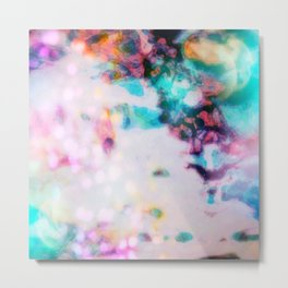 Aura: The Melting Metal Print