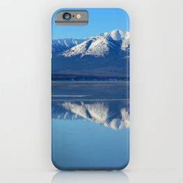 Turnagain Arm Mirror - Alaska iPhone Case