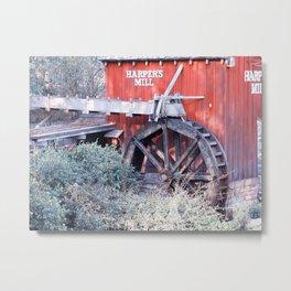 Old Mill I Metal Print